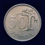 Финляндия 50 пенни 1974, фото №2