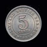 Британская Малайя 3 пенса 1961, фото №3