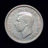 Великобритания 6 пенсов 1941 серебро, фото №3
