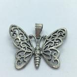 Кулон бабочка, фото №6