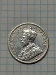 Индия - Британская, 1 рупия, 1916 год, Король Георг V, фото №2
