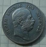 2 марки, Саксония, 1903 год., фото №5