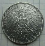 3 марки, Бавария, 1912г, фото №7