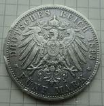 5 марок, Баден, 1893 год., фото №9