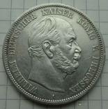 5 марок, Пруссия, 1874 год., фото №2