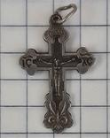 Крестик нательный 925 пр, фото №3