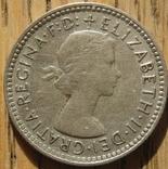 6 пенсов 1960 Австралия, фото №3