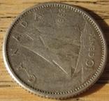 10 центов 1963 Канада, фото №4