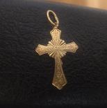 Крест золотой, фото №3