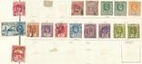 060 Брит. колонии. Цейлон 1902-1937, 16 марок на наклейках (с разновидностями), фото №2