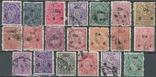 Бв02 Индийские княжества. Траванкур 1911-31, 20 служебных марок без повторов, фото №2