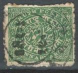 Бв07 Индийские княжества. Соратх 1886 №8, фото №2