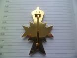 Немецкая нагрудная звезда орден, значок с крестом копия, фото №6