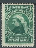 Бе05 Британские колонии. Ньюфаундленд 1897 №44*, фото №2