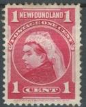 Бе07 Британские колонии. Ньюфаундленд 1897 №59*, фото №2