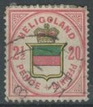 Бж05 Британские колонии. Гельголанд 1876 №18b (180 евро), фото №2