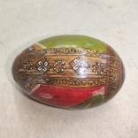 Расписное яйцо с изображением Богородицы и Спасителя., фото №5