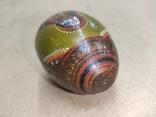 Расписное яйцо с изображением Богородицы и Спасителя., фото №6