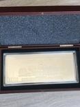 Серебряная Банкнота 100 долларов США 2009 год.4 унции серебра 999.9 пробы., фото №4