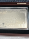Серебряная Банкнота 100 долларов США 2009 год.4 унции серебра 999.9 пробы., фото №9