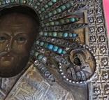 Икона Св.Николая ''На память отъ 12 гренадёрского полка/ 200 летъ., фото №10