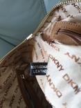 Сумка кожаная DKNY., фото №9