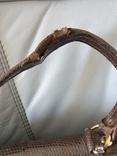 Сумка кожаная винтаж. Змеиная кожа., фото №7
