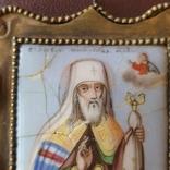 Финифть Святитель Павел митрополит Тобольский, фото №4
