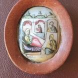 Финифть Рождество ПР Богородицы, фото №3