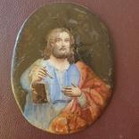 Финифть Святой с книгой, фото №3