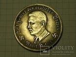 Адольф Гитлер 10 рейхсмарок 1942 Фоке-вульф копия, фото №3