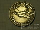 Адольф Гитлер 10 рейхсмарок 1942 Фоке-вульф копия, фото №2