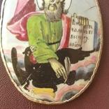 Финифть Иоанн Богослов, фото №5