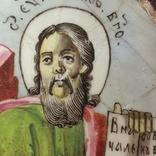 Финифть Иоанн Богослов, фото №6
