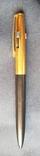 Позолочена ручка на три ампулки, фото №2
