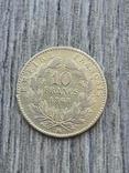 10 франків ВВ 1868 року, фото №2