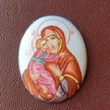 Финифть Богородица, фото №4