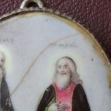 Финифть пр Никон и пр Сергий, фото №7