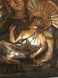 Чеканка на стену Дева Мария, фото №3