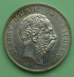 5 марок, 1902 год, Саксоня., фото №2