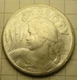 1 злот. 1924 год, Польша., фото №2