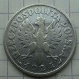 1 злот. 1924 год, Польша., фото №6