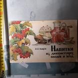 """Кощеев """"Нипитки из дикорастущих ягод и грибов"""" 1991р., фото №2"""