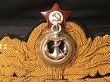 Фуражка адмирала ВМФ СССР, фото №3