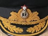 Фуражка адмирала ВМФ СССР, фото №4