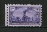 1944 США Трансконтинентальная железная дорога, фото №2