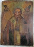 Св. Николай , размер 61.5 см х 44 см х 2.8 см - большая., фото №7