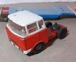 Машина грузовик+прицеп SpecialtransportMS Brandenburg ГДР GDR 1960-е жесть жестяная, СССР, фото №6