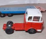 Машина грузовик+прицеп SpecialtransportMS Brandenburg ГДР GDR 1960-е жесть жестяная, СССР, фото №7