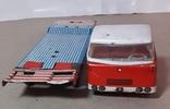 Машина грузовик+прицеп SpecialtransportMS Brandenburg ГДР GDR 1960-е жесть жестяная, СССР, фото №8